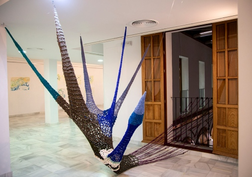 An art installation by Micaela Vivero, artist and professor