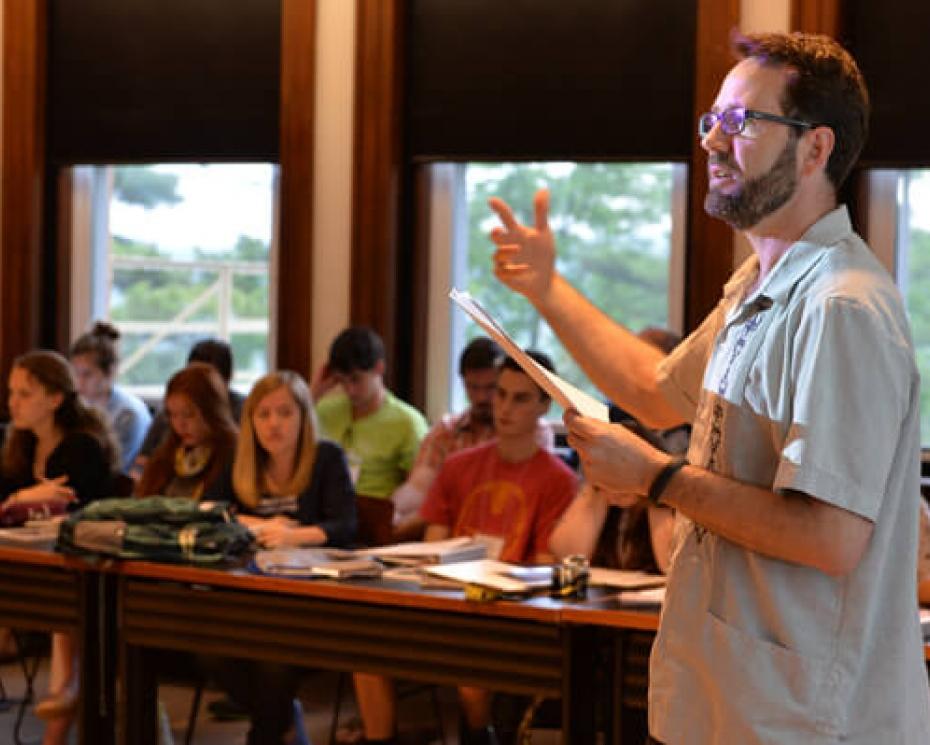 Peter Grandbois, Denison associate professor of English