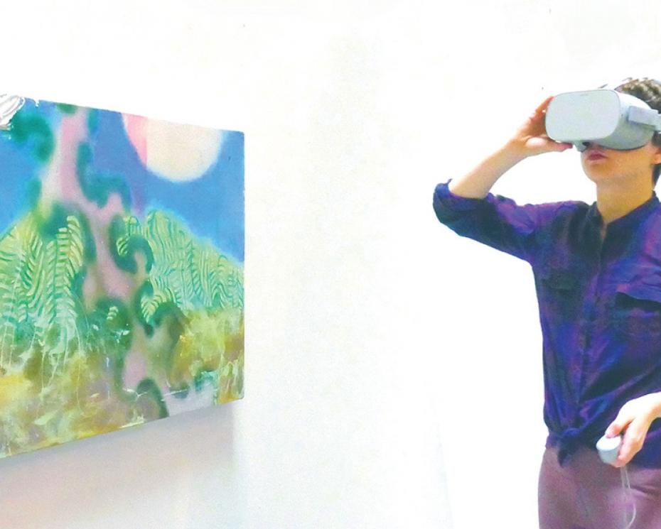 Al DiLorenzo, 'Painting Virtual Reality'