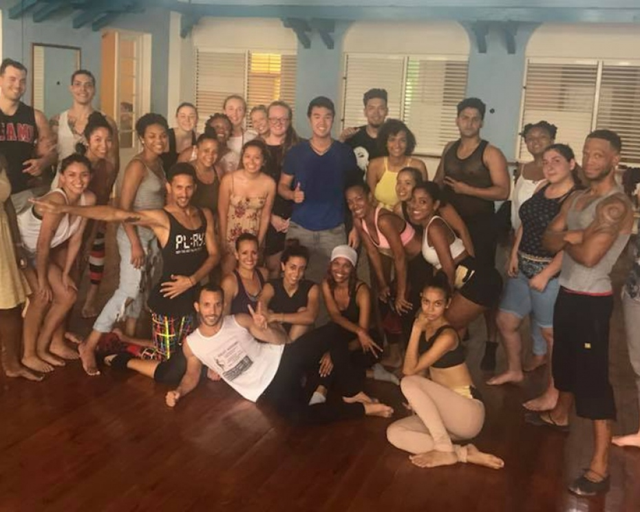 Workshop and performance by Cucalambe on Folkoric dance in Cuba