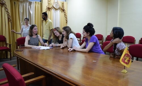 denison students in Sri Lanka6