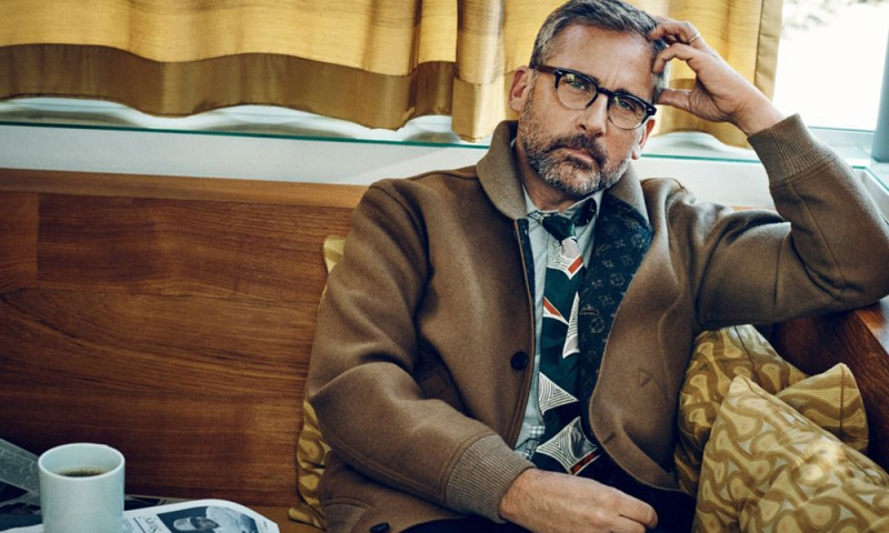 Steve Carell in Esquire Magazine