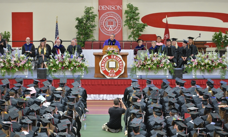 President Adam Weinberg's remarks and charge to the Class of 2017