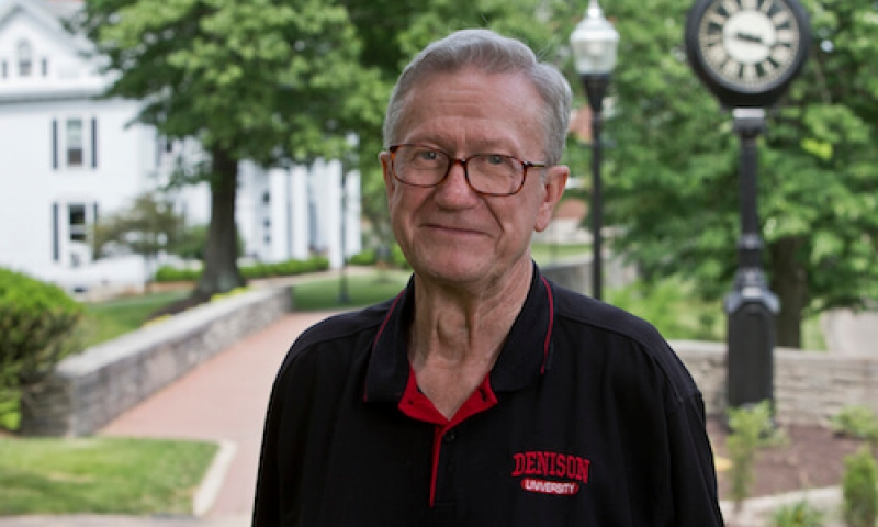 Don Bonar on Denison campus