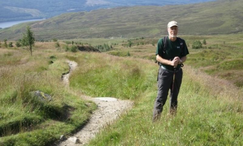 Tod Frolking hiking