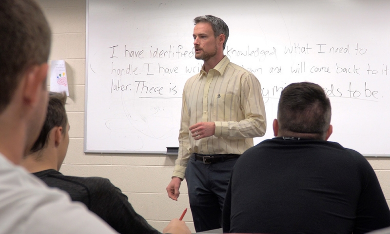 Assistant Athletics Director Greg Lott