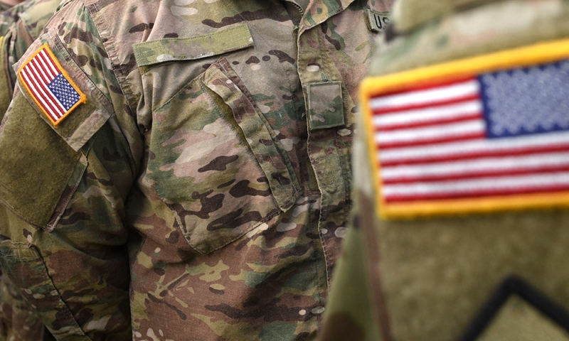 veterans stock image