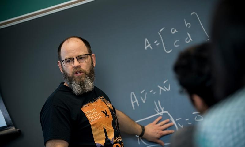 Lew Ludwig teaching