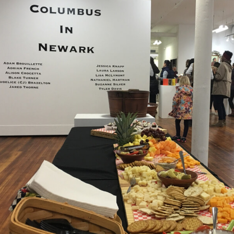 Columbus in Newark Opening