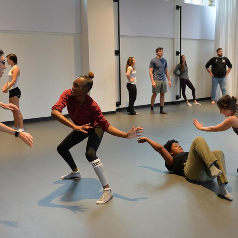 Guest artist Olivier Tarpaga (Burkina Faso, Africa) w. dance class