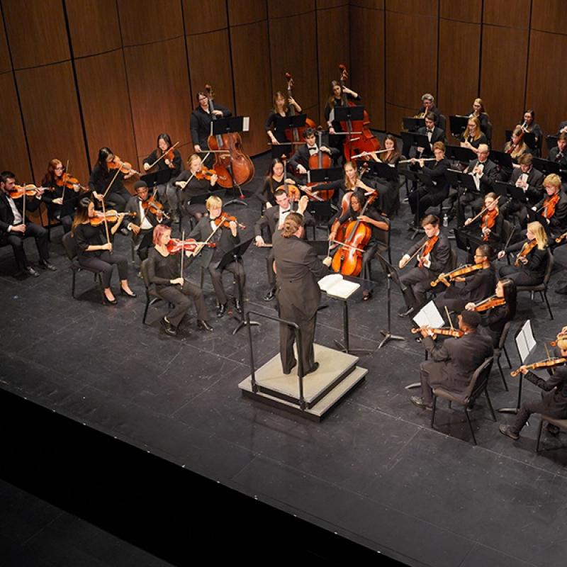 Symphony Orchestra, Philip Rudd conductor
