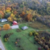 Aerial of the Biological Reserve showing the Polly Anderson Field Station